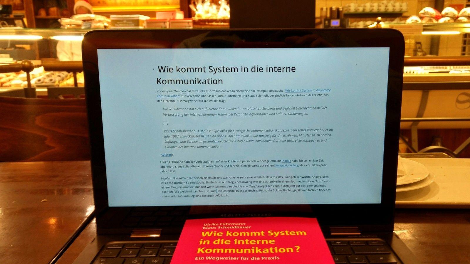 Wie kommt System in die interne Kommunikation?