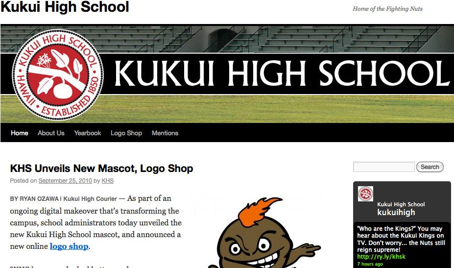 Kukui High School in Hawaii – Go Nuts!