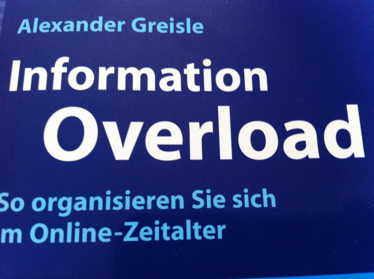 Information Overload und das unterbrechungsfreie Arbeiten