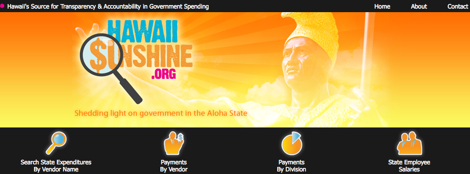 Pork Alerts: Staatsausgaben von Hawaii veröffentlicht
