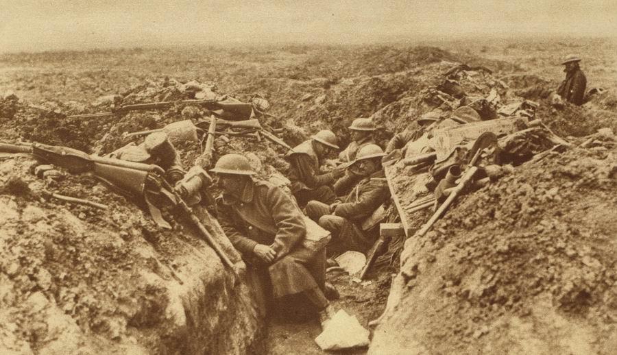 Frank Kemsley: Kanadischer Soldat in den Schützengräben des Ersten Weltkriegs