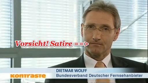 Dietmar Wolff vom BVDZ (Satire)