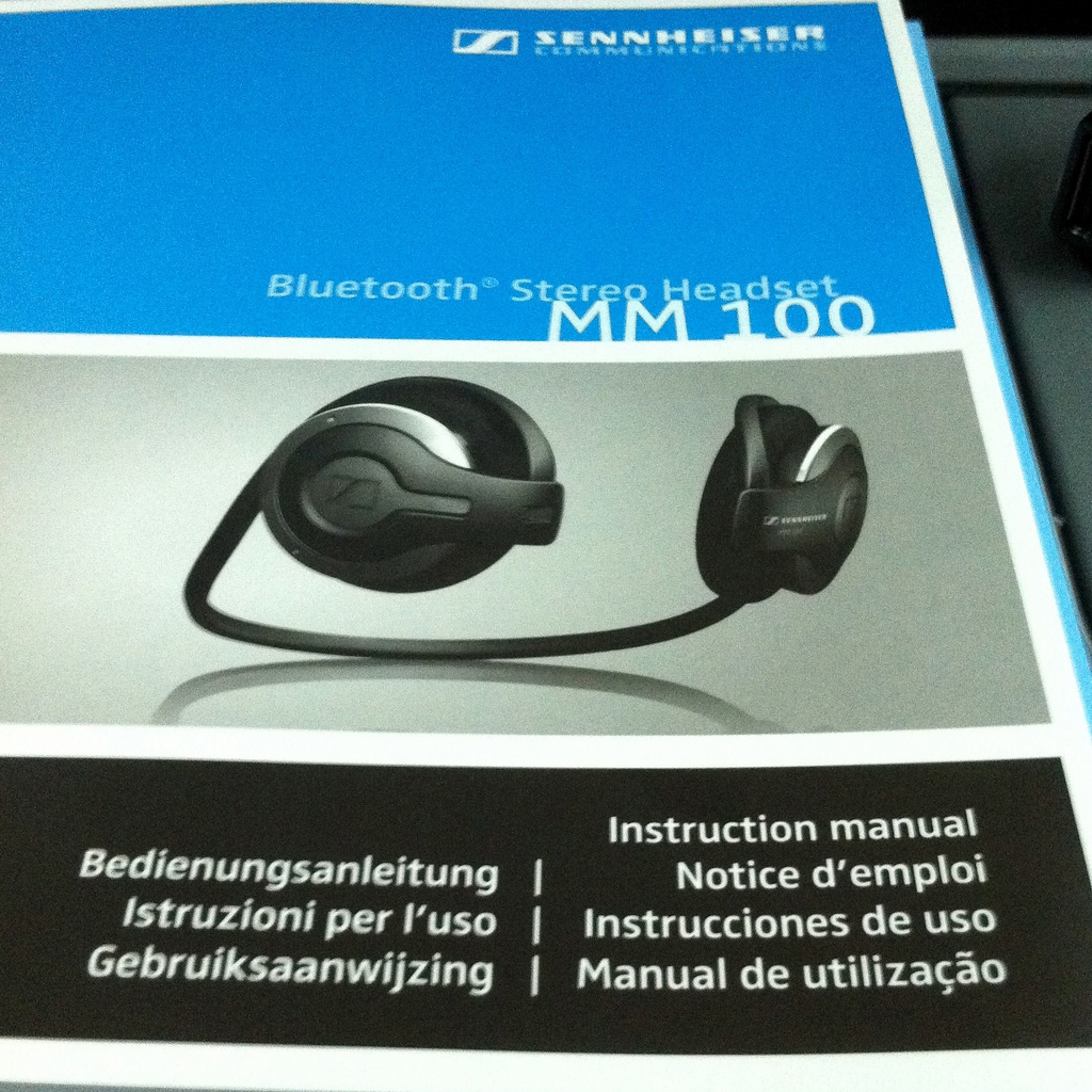 Im Test: Sennheiser MM 100 Bluetooth Stereo Headset