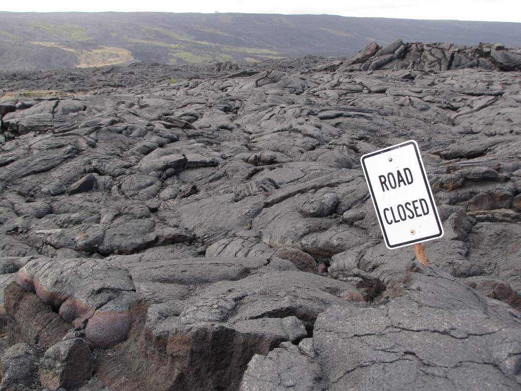 Aloha Friday Foto: Road Closed
