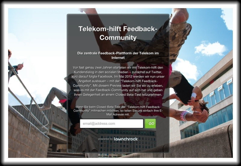 Telekom startet Telekom-hilft Feedback-Community