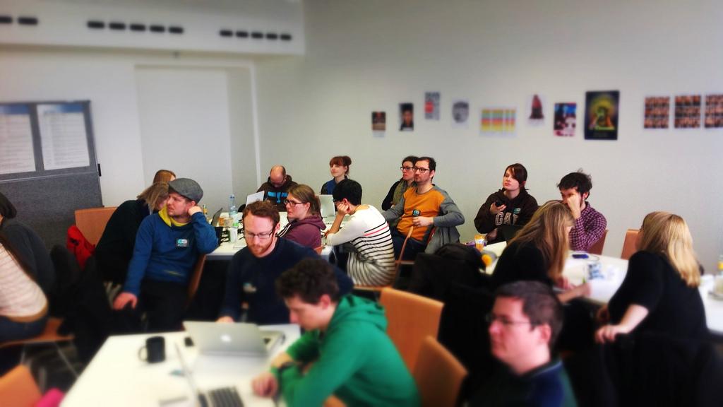 Communication Camp 02 in Darmstadt: Kulturhäppchen