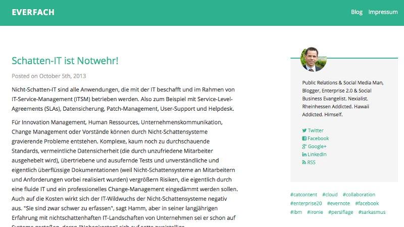 Bloggen mit Evernote und Postach.io