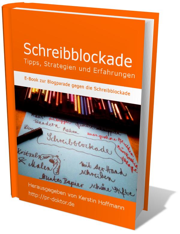 Das E-Book: Blogparade gegen die Schreibblockade