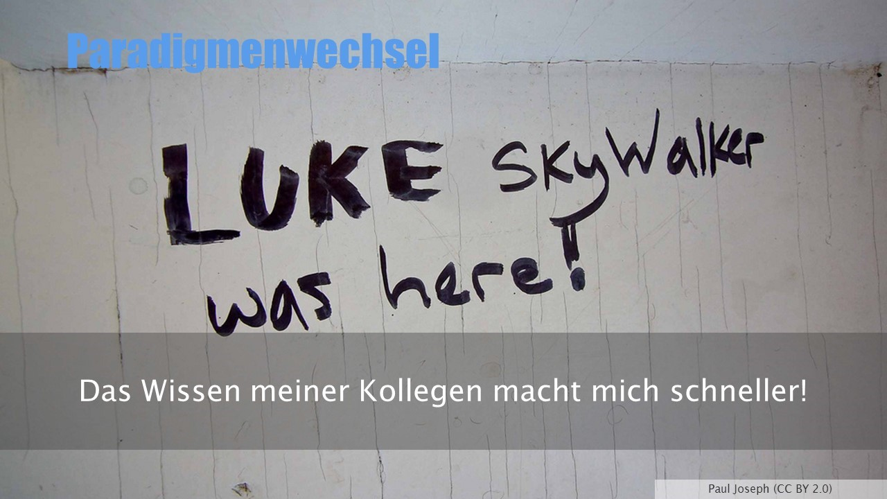 Luke Skywalker was here - Paul Joseph (CC BY 2.0)