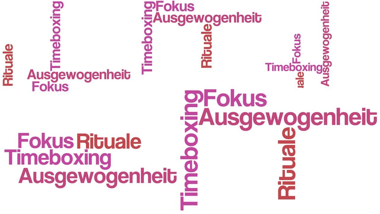 Productivity Mindset: Fokus, Rituale, Timeboxing, Ausgewogenheit