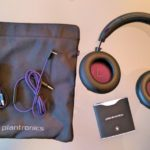 Plantronics Backbeat Pro (1/7) mit Tasche, USB-Kabel, Tonkabel, Quick-Guide