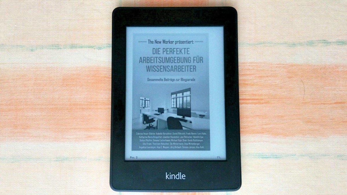 PDF auf dem Kindle lesen (Blogparade)