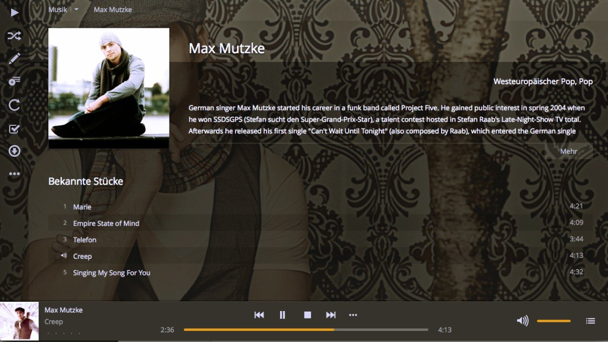 Max Mutzke: Creep (with Plex)
