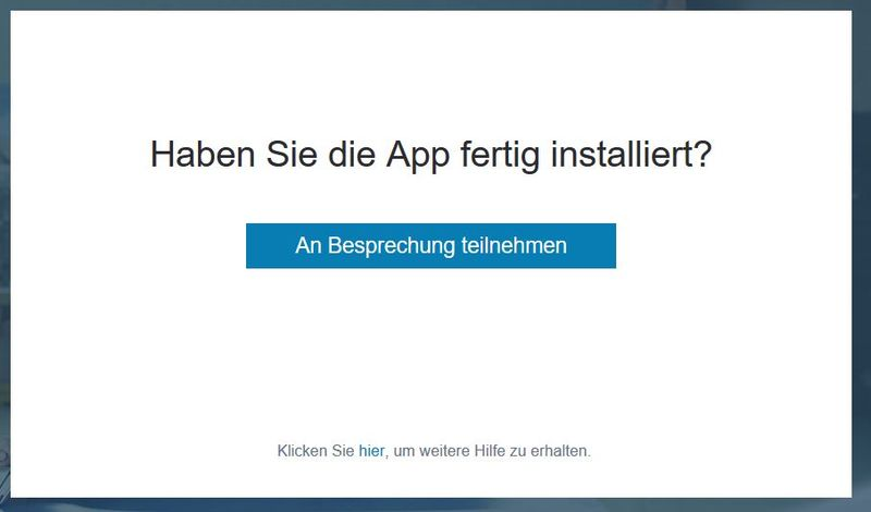 Skype for Business: Haben Sie die App fertig installiert?