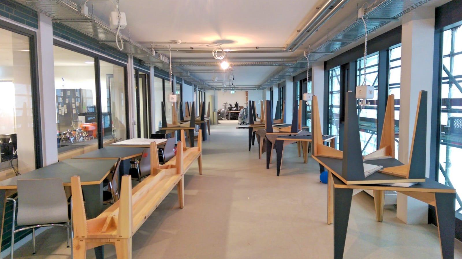 Besuch im Coworking M1 (Mainz)