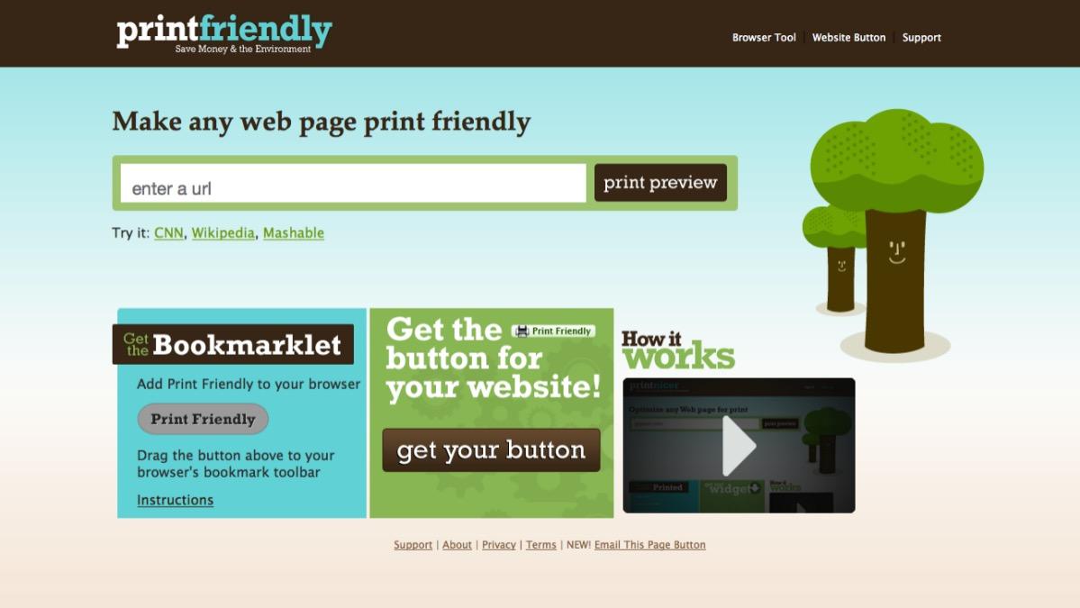 Meine Tools: Print Friendly – PDF-Dateien erstellen und lesen