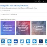 Microsoft Flow: Automatisierte Workflows