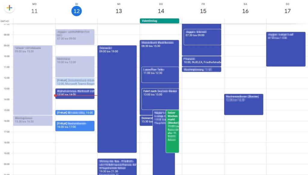 Microsoft Flow: Gmail-Kalender - mit synchronisierten [FHKuk] Terminen