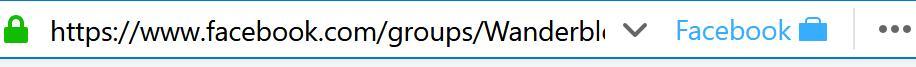 Multi-Account Containers: Facebook-Gruppe ist in Facebook-Umgebung geöffnet